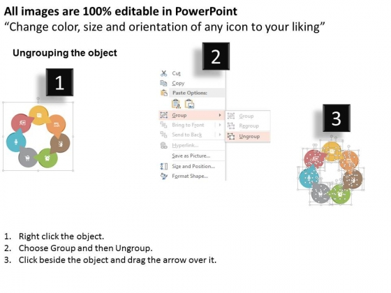 Circular_Flow_Of_Seven_Business_Step_Powerpoint_Template_2