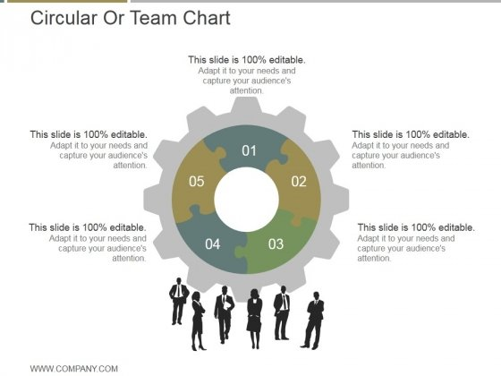 Circular Or Team Chart Ppt PowerPoint Presentation Sample