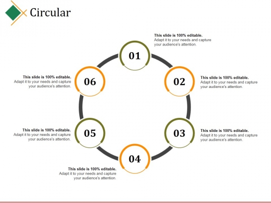 Circular Ppt PowerPoint Presentation Gallery Layout
