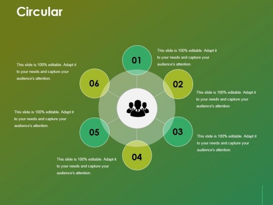 Circular Ppt Powerpoint Presentation Gallery Layouts
