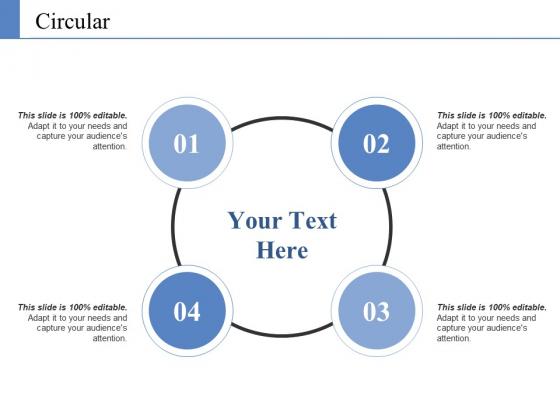 Circular Ppt PowerPoint Presentation Ideas Objects