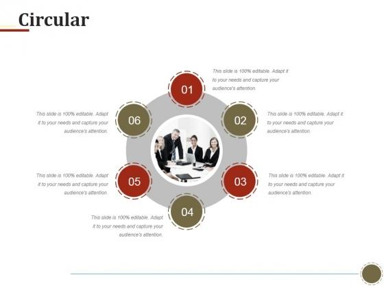 Circular Ppt PowerPoint Presentation Ideas Summary