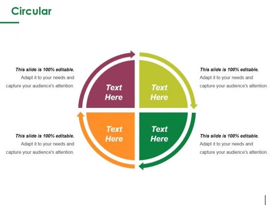 Circular Ppt PowerPoint Presentation Inspiration Aids
