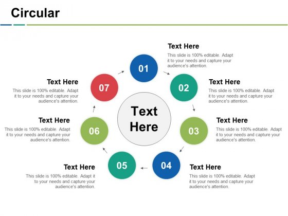 Circular Ppt PowerPoint Presentation Layouts Display