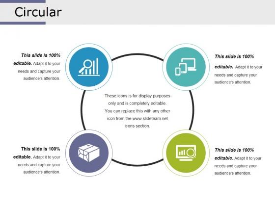 Circular Ppt PowerPoint Presentation Layouts Vector
