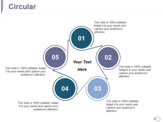 Circular Ppt PowerPoint Presentation Model File Formats
