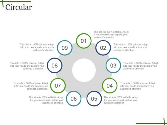 Circular Ppt PowerPoint Presentation Model Graphics Tutorials