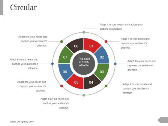 Circular Ppt PowerPoint Presentation Model Inspiration