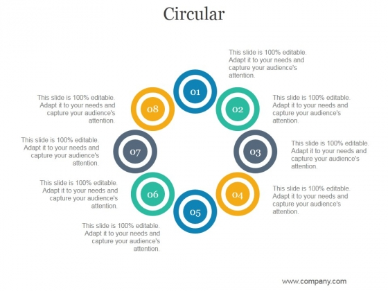Circular Ppt PowerPoint Presentation Model