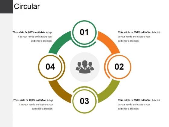 Circular Ppt PowerPoint Presentation Outline Ideas