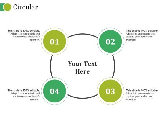 Circular Ppt PowerPoint Presentation Outline Sample