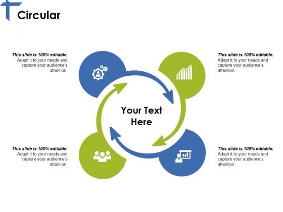 Circular Ppt PowerPoint Presentation Outline Slideshow