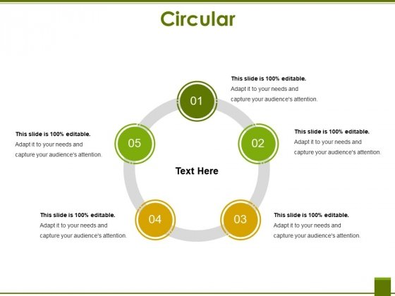 Circular Ppt PowerPoint Presentation Pictures Samples