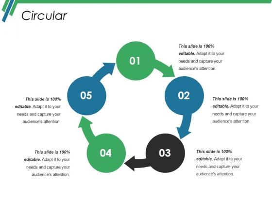 Circular Ppt PowerPoint Presentation Portfolio Ideas
