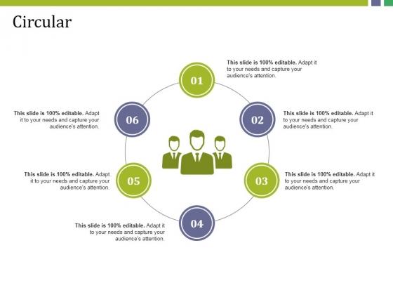 Circular Ppt PowerPoint Presentation Portfolio Show