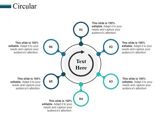 Circular Ppt PowerPoint Presentation Portfolio Smartart