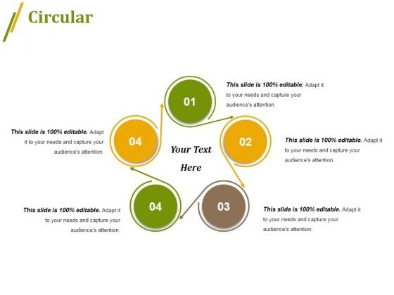 Circular Ppt PowerPoint Presentation Professional Icon