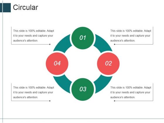 Circular Ppt Powerpoint Presentation Professional Templates