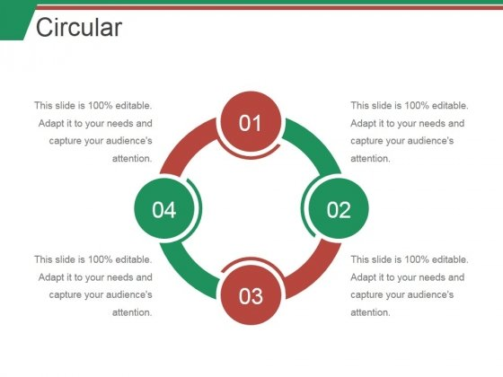 Circular Ppt PowerPoint Presentation Slides Graphics Example