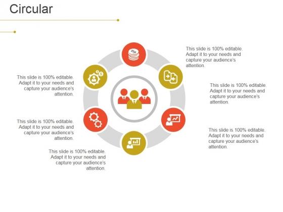 Circular Ppt PowerPoint Presentation Slides Picture