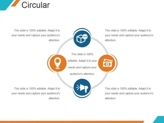 Circular Ppt PowerPoint Presentation Slides