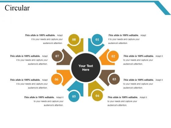 Circular Ppt PowerPoint Presentation Summary Deck