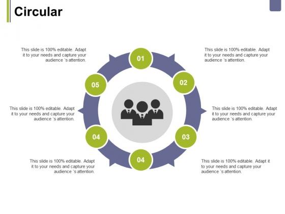 Circular Ppt PowerPoint Presentation Summary Design Ideas