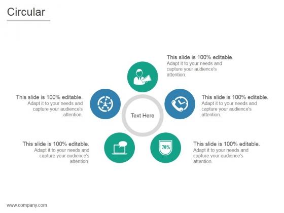 Circular Ppt PowerPoint Presentation Templates