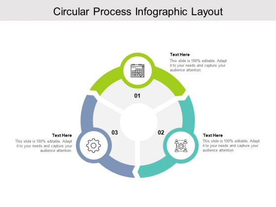 Circular Process Infographic Layout Ppt PowerPoint Presentation Model Format Ideas