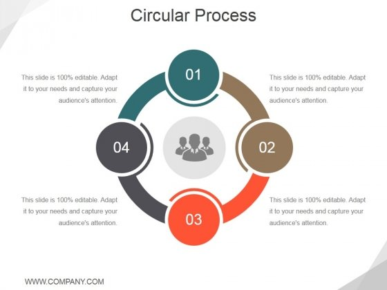 Circular Process Ppt PowerPoint Presentation Inspiration Deck