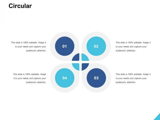 Circular Process Ppt PowerPoint Presentation Styles Format Ideas