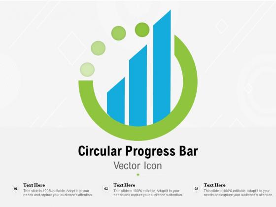 Circular Progress Bar Vector Icon Ppt PowerPoint Presentation Pictures