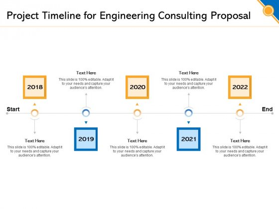 Civil Construction Project Timeline For Engineering Consulting Proposal Sample PDF
