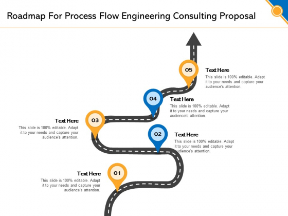 Civil Construction Roadmap For Process Flow Engineering Consulting Proposal Microsoft PDF