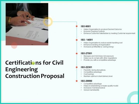 Civil_Engineering_Consulting_Services_Certifications_For_Civil_Engineering_Construction_Proposal_Background_PDF_Slide_1
