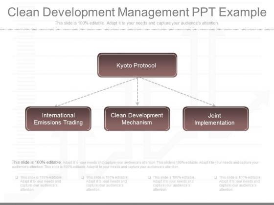 Clean Development Management Ppt Example