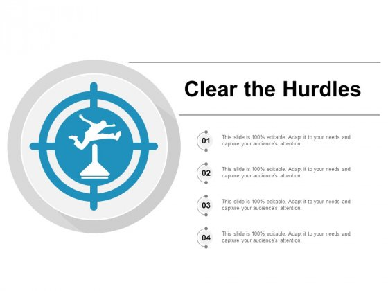 Clear The Hurdles Ppt PowerPoint Presentation Pictures Graphics