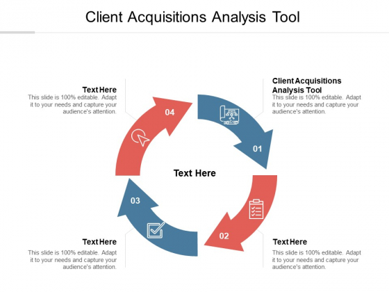 Client Acquisitions Analysis Tool Ppt PowerPoint Presentation Icon Cpb