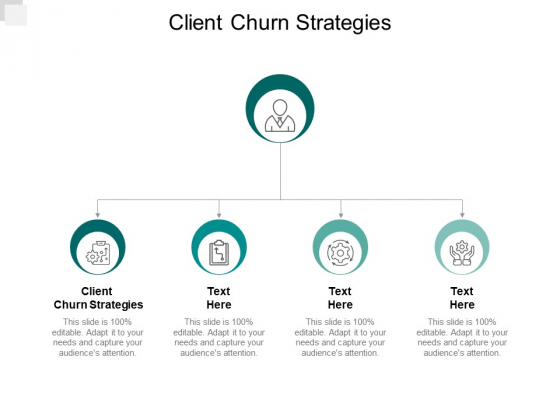 Client Churn Strategies Ppt PowerPoint Presentation Gallery Format Cpb