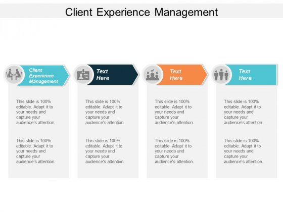 Client Experience Management Ppt PowerPoint Presentation Portfolio Templates Cpb