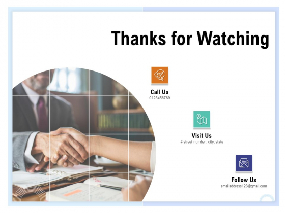 Client Health Score Thanks For Watching Ppt PowerPoint Presentation Summary Graphic Images PDF