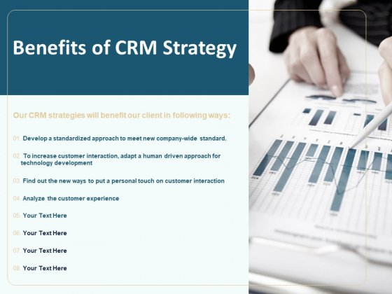 Client Relationship Administration Proposal Template Benefits Of CRM Strategy Ideas PDF