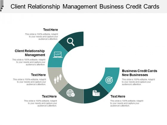 Client Relationship Management Business Credit Cards New Businesses Ppt PowerPoint Presentation Gallery Background