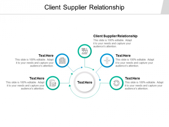 Client Supplier Relationship Ppt PowerPoint Presentation Layouts File Formats Cpb