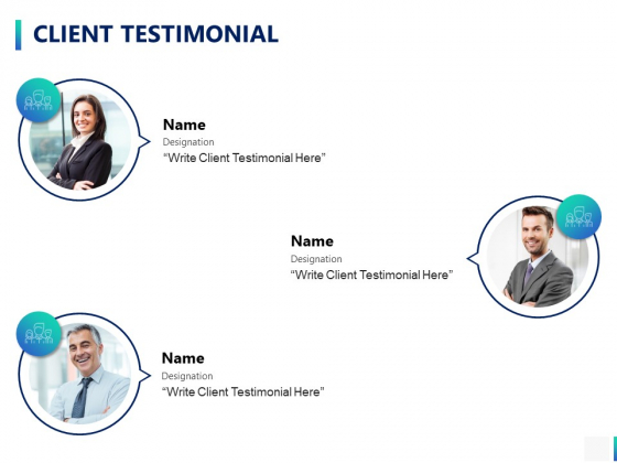 Client Testimonial Introduction Ppt PowerPoint Presentation Infographic Template Shapes