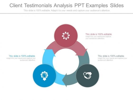 Client Testimonials Analysis Ppt Examples Slides