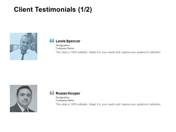 Client Testimonials Communication Ppt PowerPoint Presentation Icon Sample