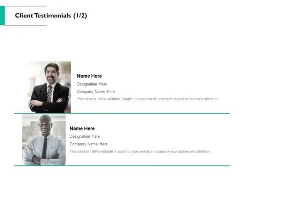 Client Testimonials Communication Ppt PowerPoint Presentation Layouts Styles