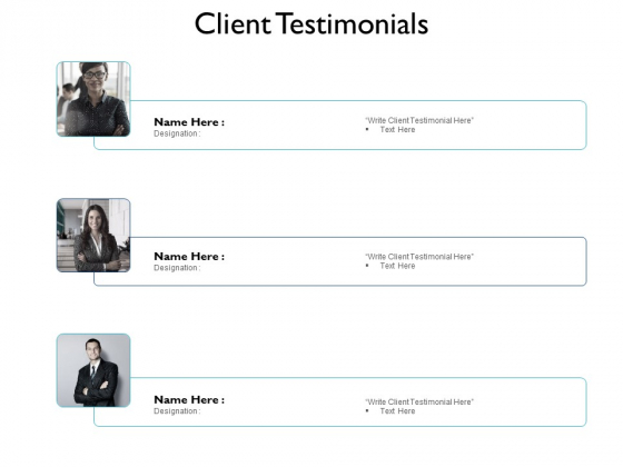 Client Testimonials Communication Ppt PowerPoint Presentation Outline Graphics