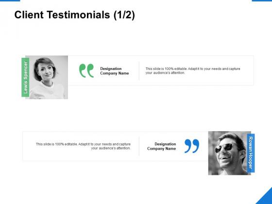 Client Testimonials Communication Ppt PowerPoint Presentation Pictures Clipart Images